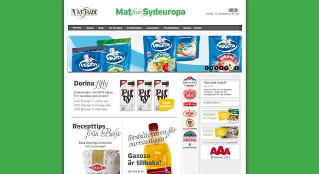 Webmastertjänst för Plivit Trade