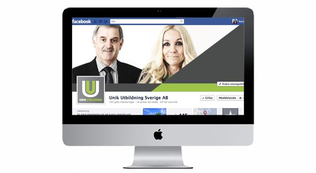 Facebook för Unik-Utbildning